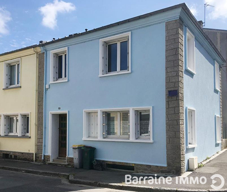 FOR SALE HOUSE BREST HARTELOIRE 90M ² 100M ² OF GROUND 3 ROOMS