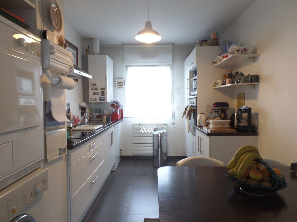 LOCATION BREST SAINT MARC  APPARTEMENT T6  116.35 M²  TERRASSE de 76 M²  2 GARAGES RESIDENCE DE STANDING