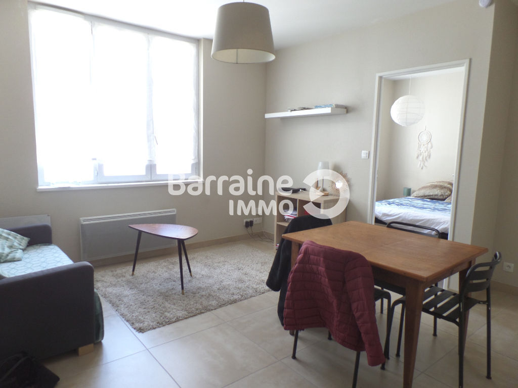 LOCATION   BREST   SIAM   APPARTEMENT T2   33,84 M²   RESIDENCE REHABILITEE   PRESTATIONS DE QUALITE