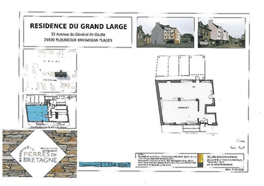 Bureau / local professionnel Brignogan Plages - 2 pièce(s) - 114 m2