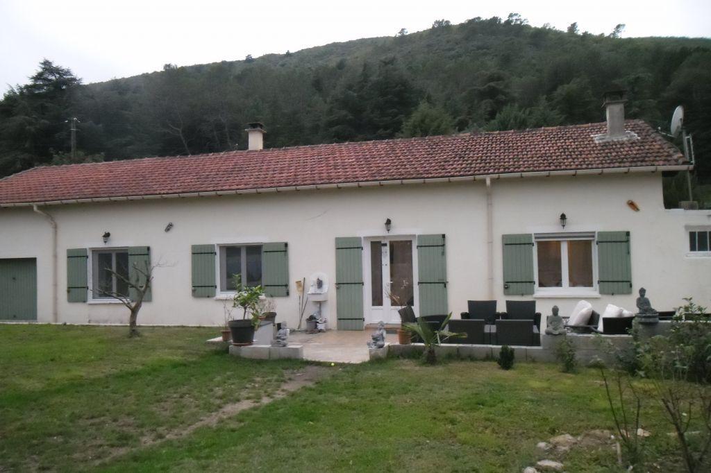 Maison de plain pied avec terrain plat