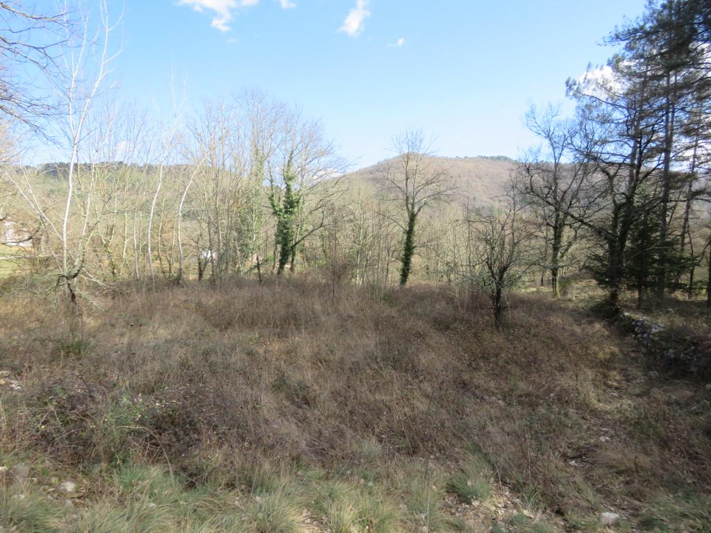 Terrain Gagnieres 6196 m2 bel environnement
