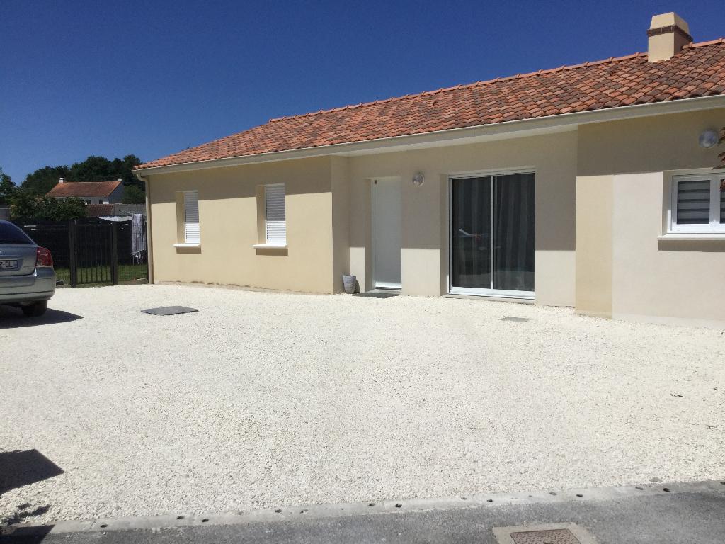 Maison récente 4 chambres de plain-pied à St Aignan de Grand Lieu