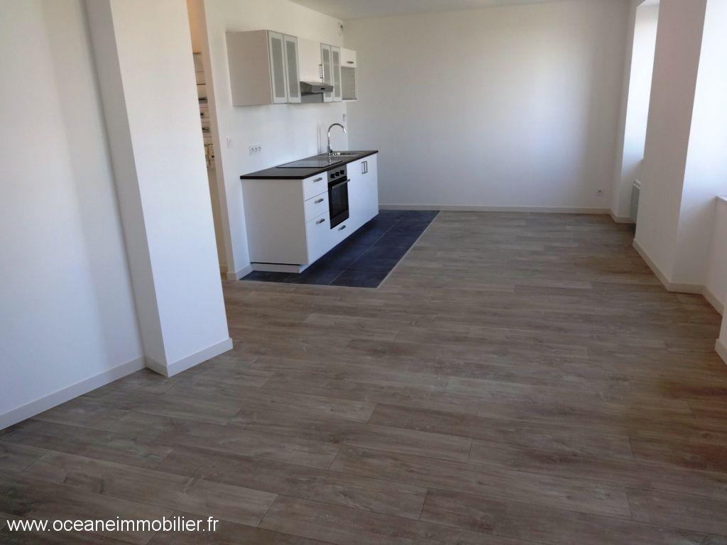 A LOUER BREST PLATEAU DES CAPUCINS APPARTEMENT T2 bis de 53.89 m²