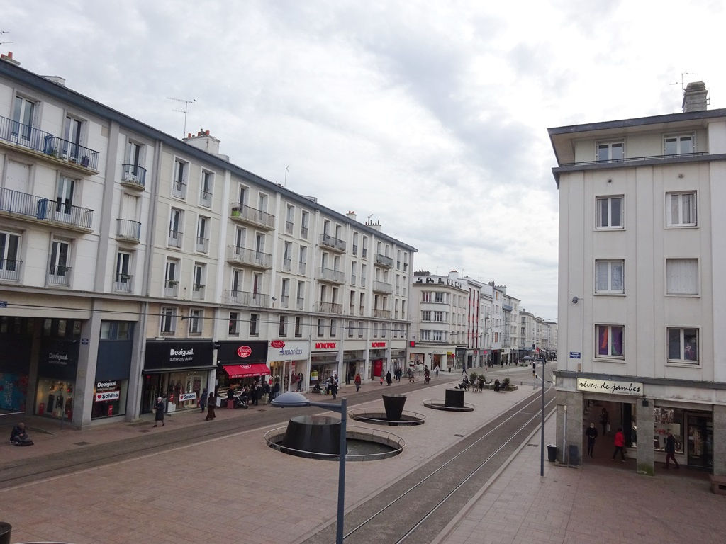 A VENDRE  BREST  SIAM  TRIANGLE d'OR  APPARTEMENT T4 de 94 M²