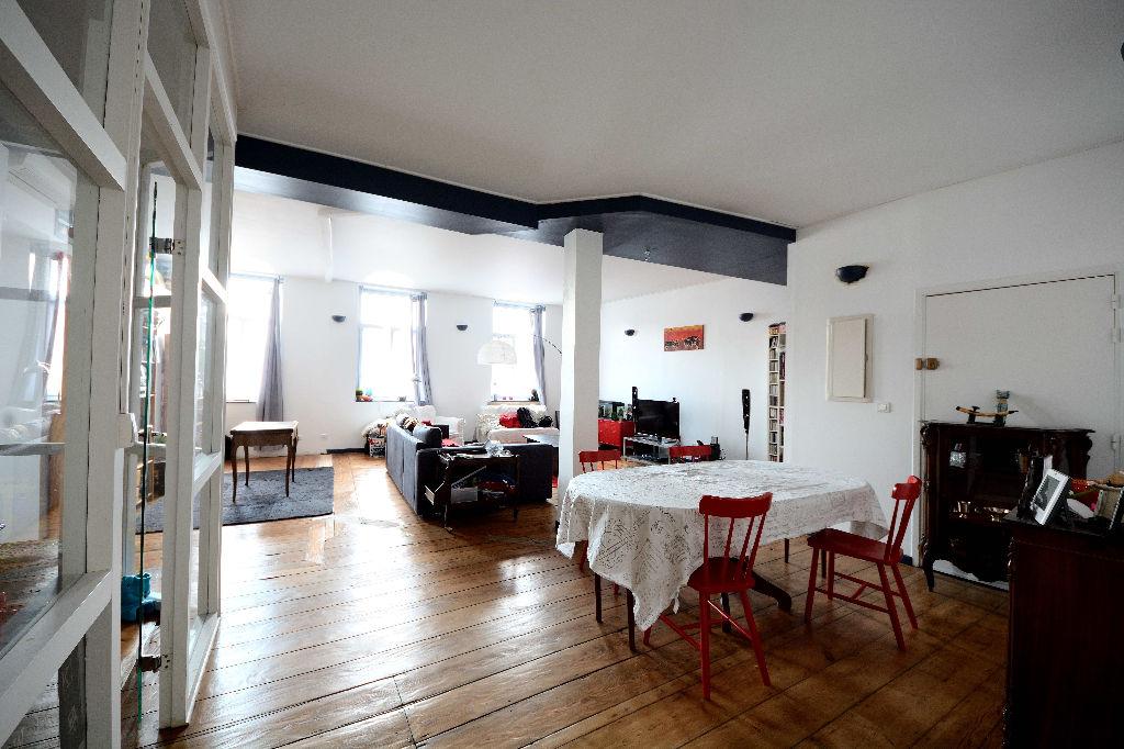 Roubaix Centre Appartement Lumineux 3 chambres