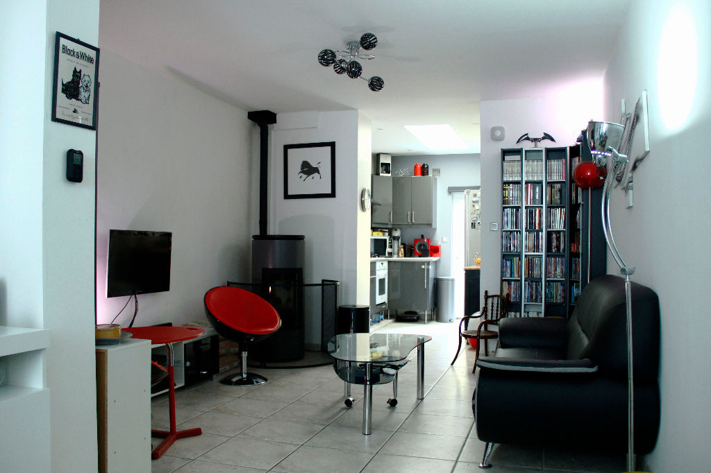 ROUBAIX - Maison 3 chambres + Extérieur