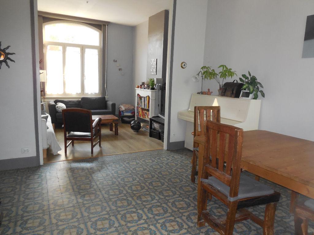 Nouveau Roubaix maison 1930 4 chambres et jardin