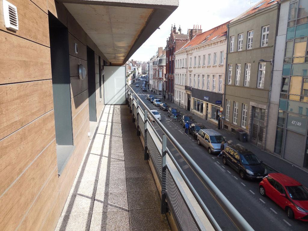 T3 NEUF HYPER CENTRE ROUBAIX avec terrasse