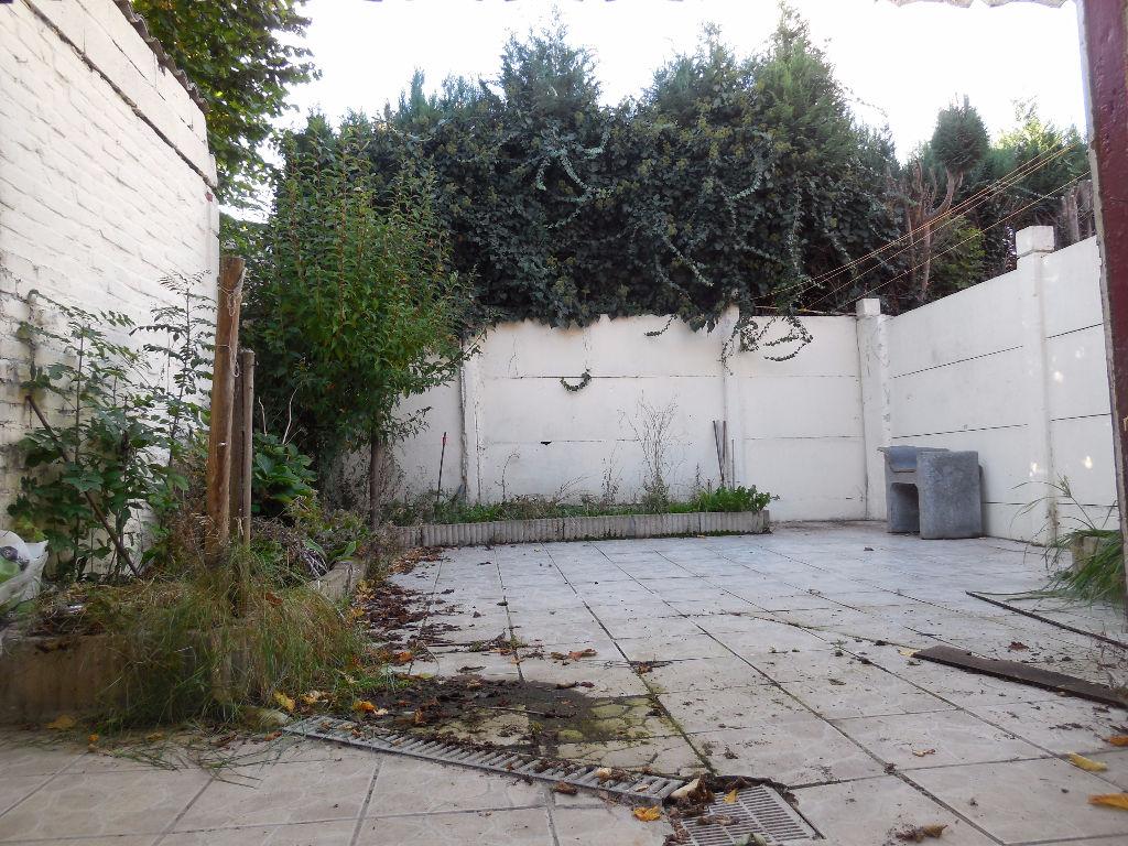 Maison Roubaix 4 chambres jardin
