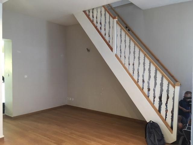 Roubaix, maison à louer avec 2 chambres et bureau, Jardinet