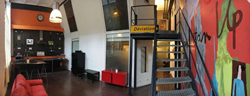 """Appartement loft """"Brown slab"""" 90 m²"""