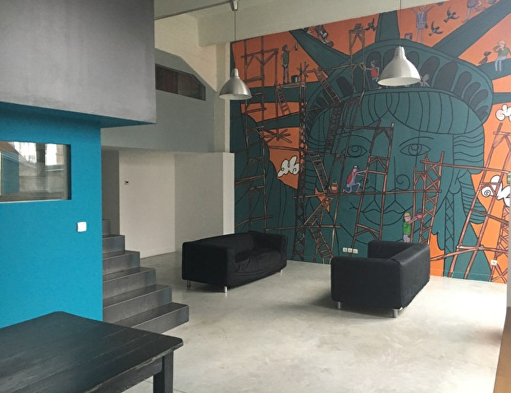 Loft 3 chambres + terrasse
