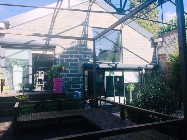Maison- Loft de 325 m²- 6 chambres- piscine- Wattignies