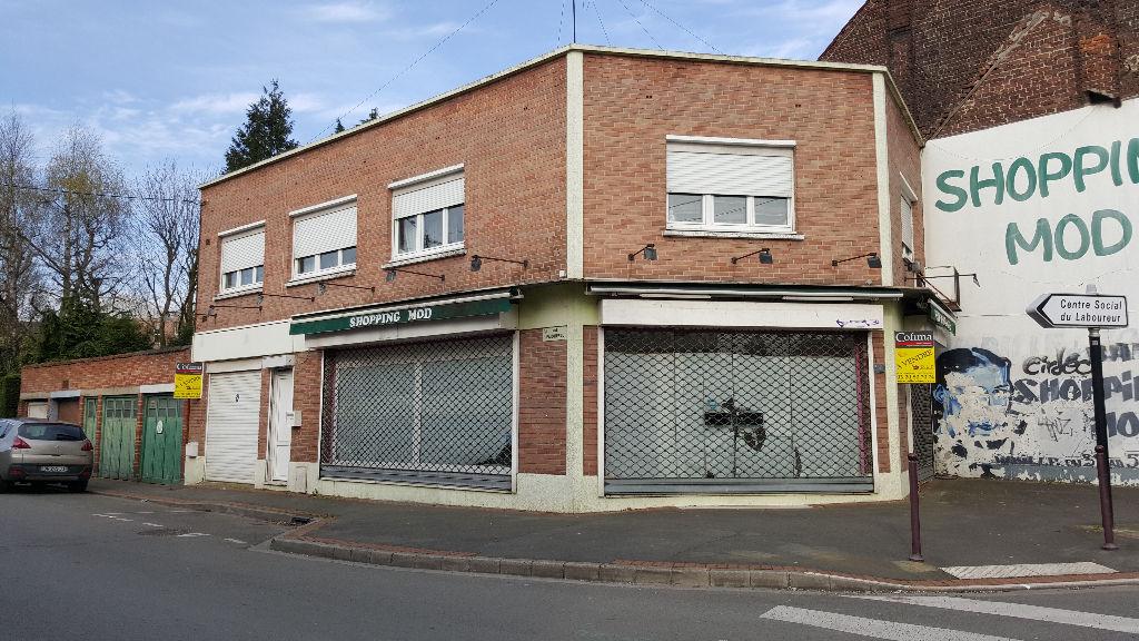 Local commercial Wattrelos 116 m2 Cadastré