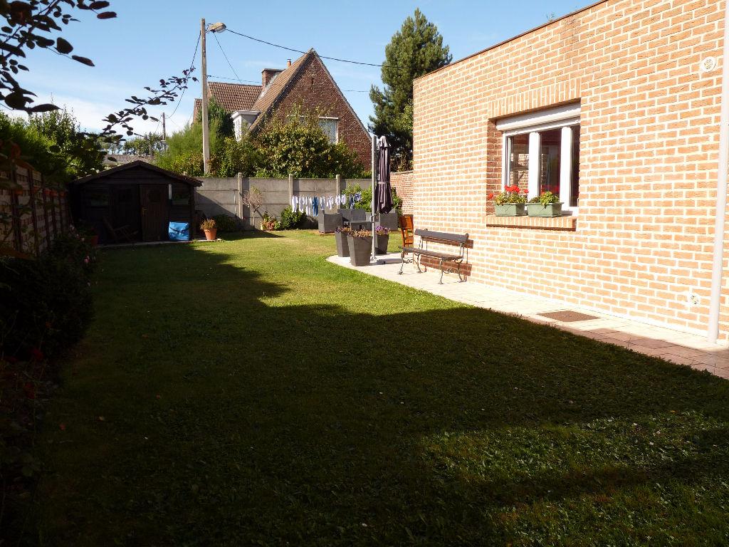 Wattrelos 4 chambres jardin garage