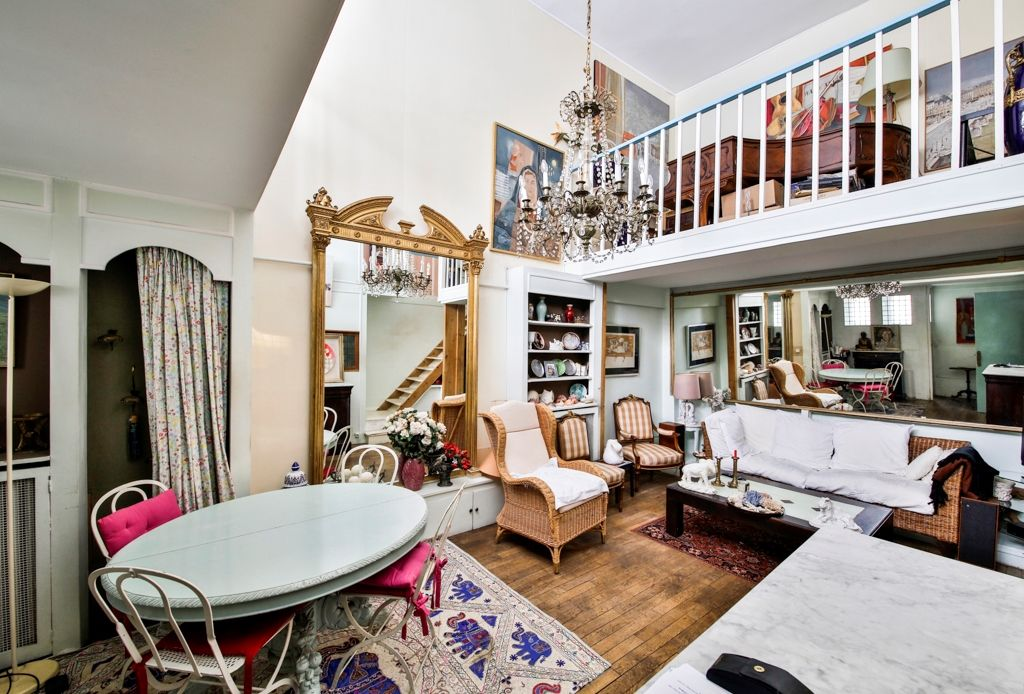 Loft-atelier d'artiste 75006