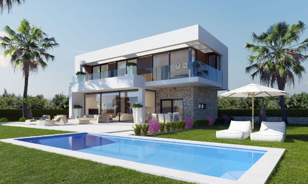 Espagne, ville Finestrat,  des villas de rêve.