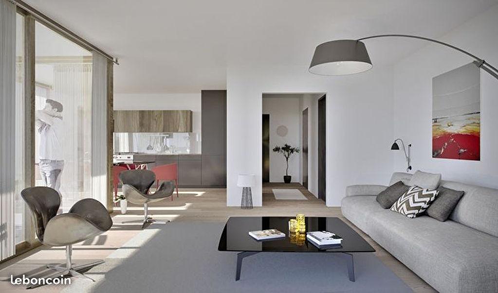 Appartement 2-3 Pièces_2 chambres_Terrasse_Vue  dégagée_Parking