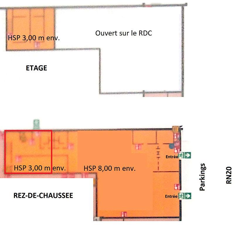 Local avec droit aux bail 1200 m² ORLEANS Trés bon emplacement