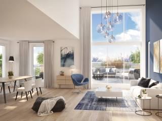 Appartement Enghien Les Bains 4 pièce(s) 101.8 m2