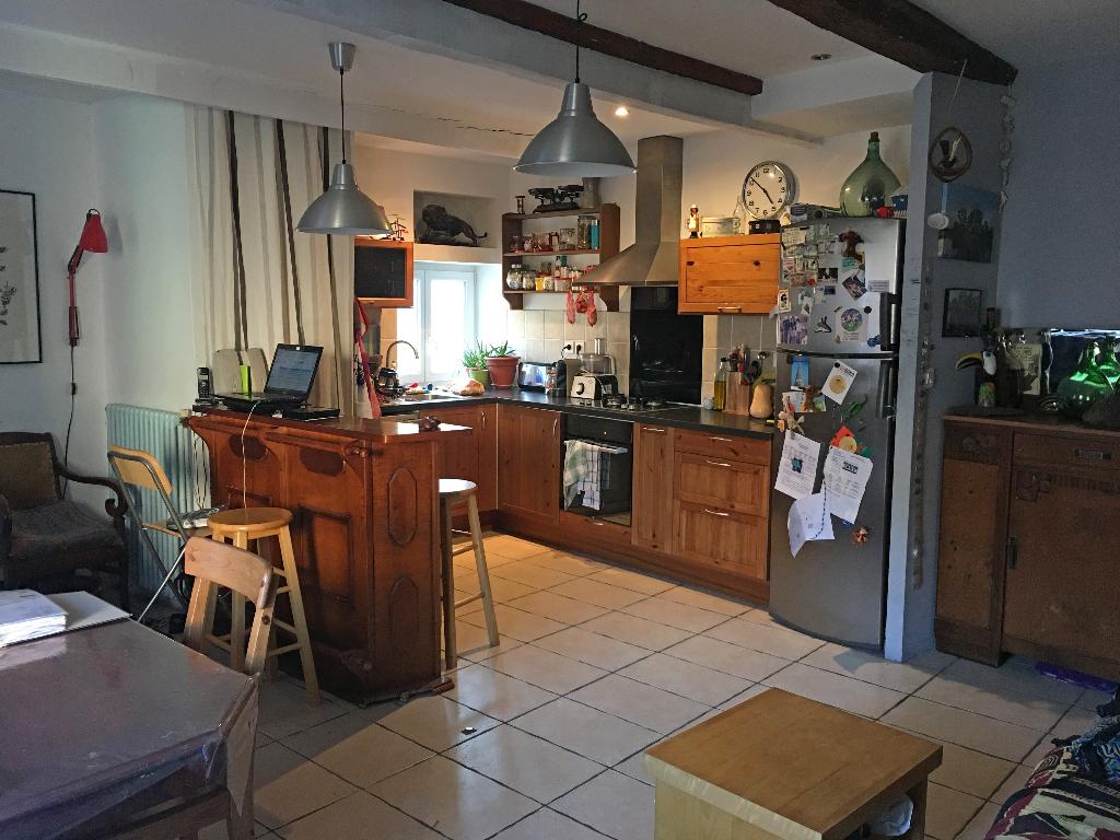 maison de village avec studio indépendant