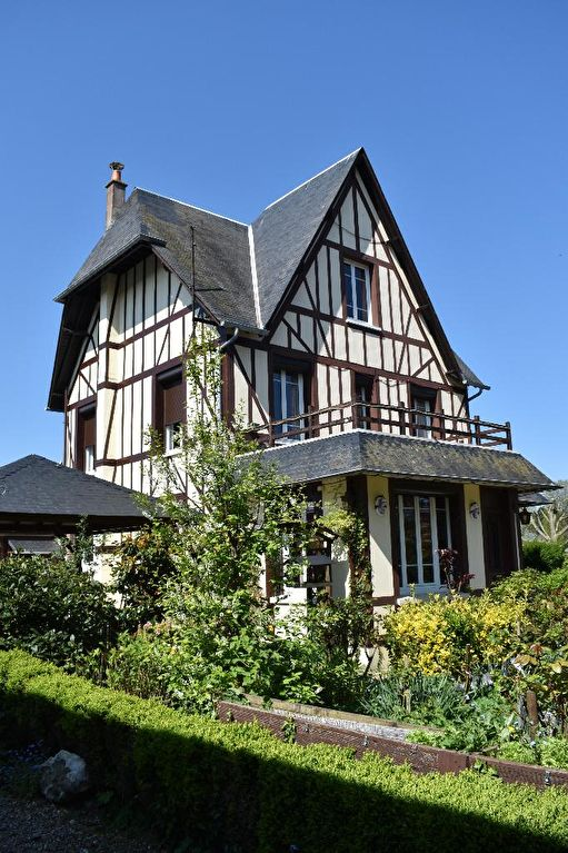 maison Anglo-Normande entre terre et mer