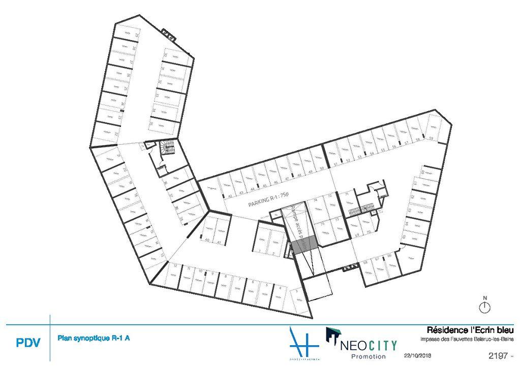 Appartement Sete 3 pièce(s) 59.85 m2