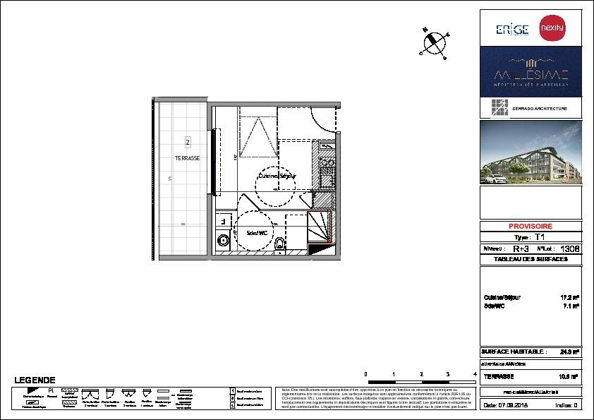 Programme neuf  1 pièce(s) 24.3 m2