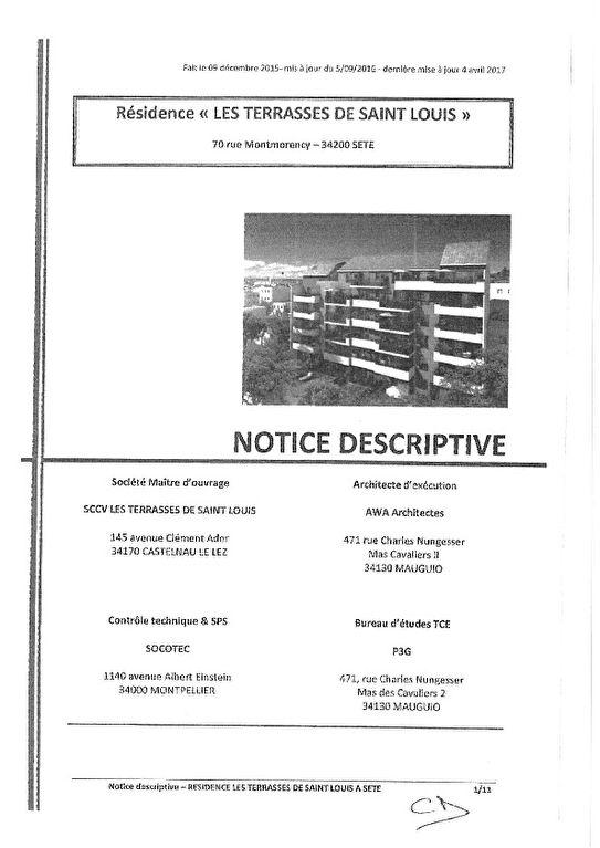 Appartement Balaruc Les Bains 4 pièce(s) 77.35 m2