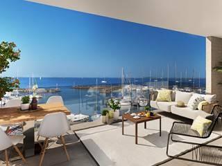 Appartement de standing avec terrasse et vue imprenable