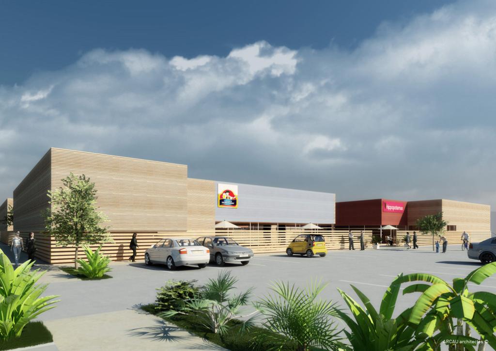Le Mans  Local commercial  1200 m2 zone commerciale N° 1 Trés belle visibilité