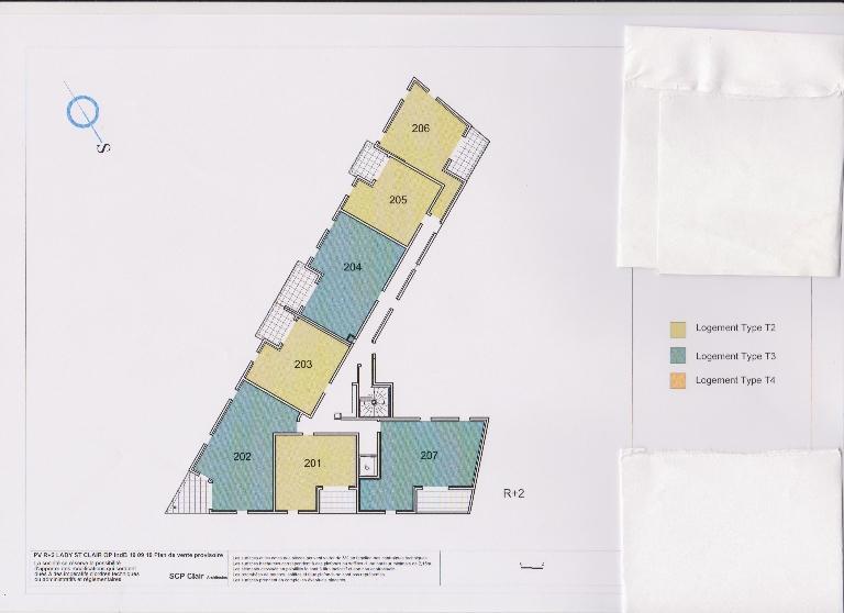 SÈTE, FRAIS DE NOTAIRE RÉDUITS! Appartement  2 pièces (37.15 m2) + terrasse