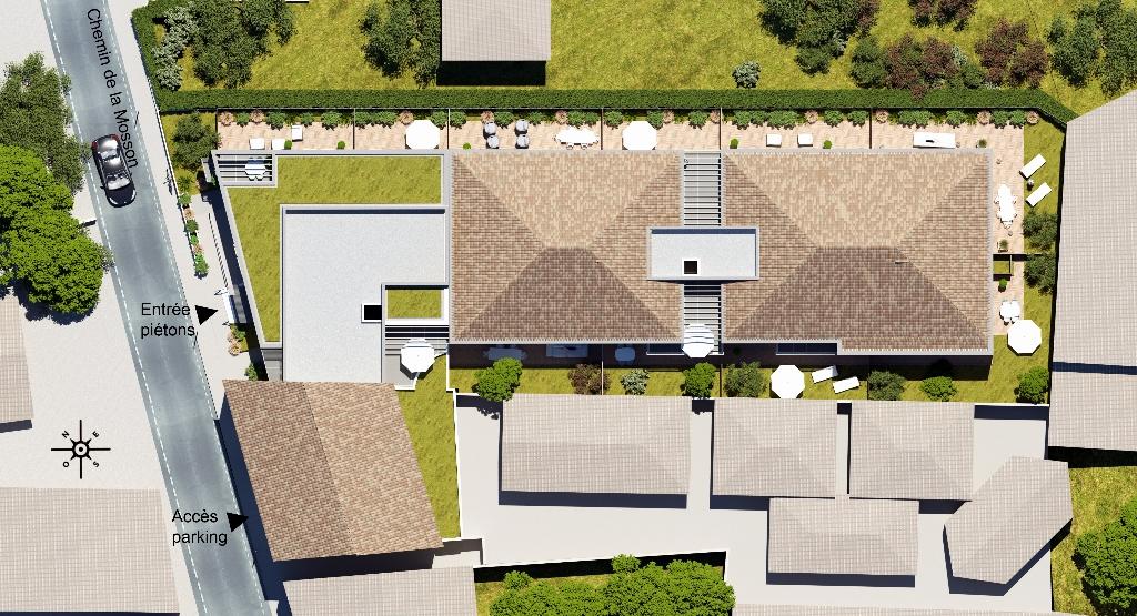 PETITE COPROPRIÉTÉ! FRAIS DE NOTAIRE RÉDUITS! PROX MONTPELLIER, votre appartement T2 + terrasse+jardin
