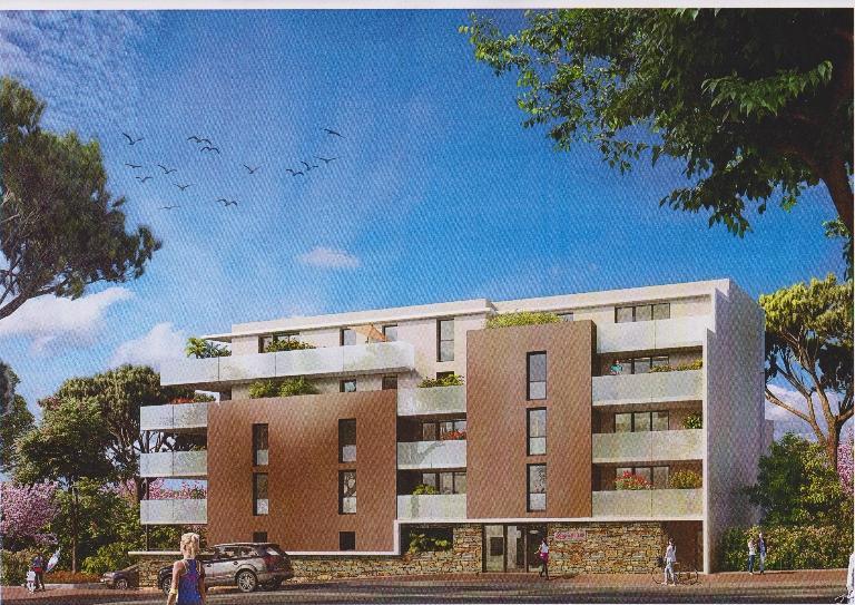 Appartement  2 pièces(53.10 m2) + terrasse en frais de notaire réduits!