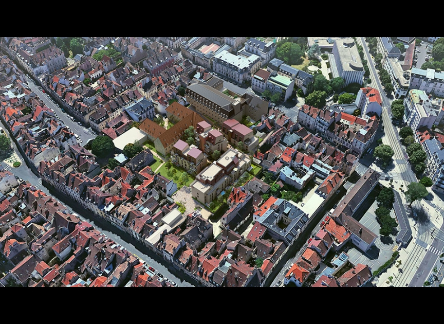3 Pièces neuf centre historique DIJON (Castrum)