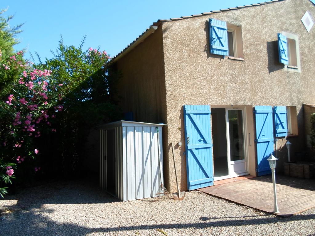 Maison 3 pièces avec jardin