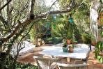 Maison provençale dans un cadre verdoyant