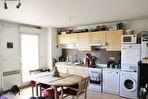 Appartement loué de type 2 avec terrasse et garage