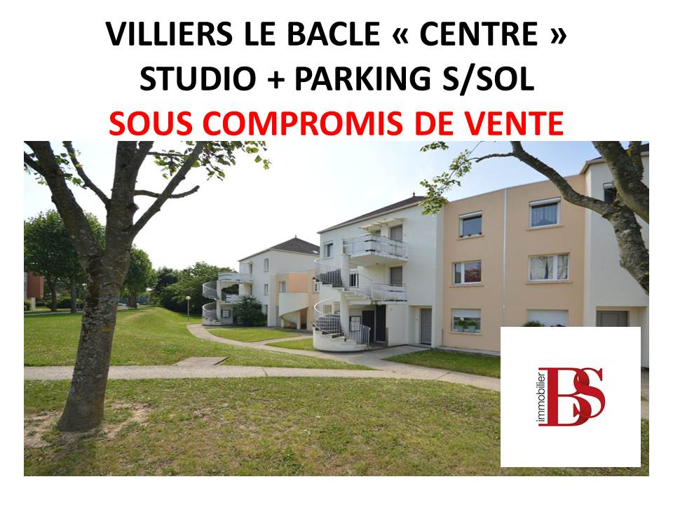 Appartement Villiers Le Bacle 1 pièce(s) 29 m2 plus parking.