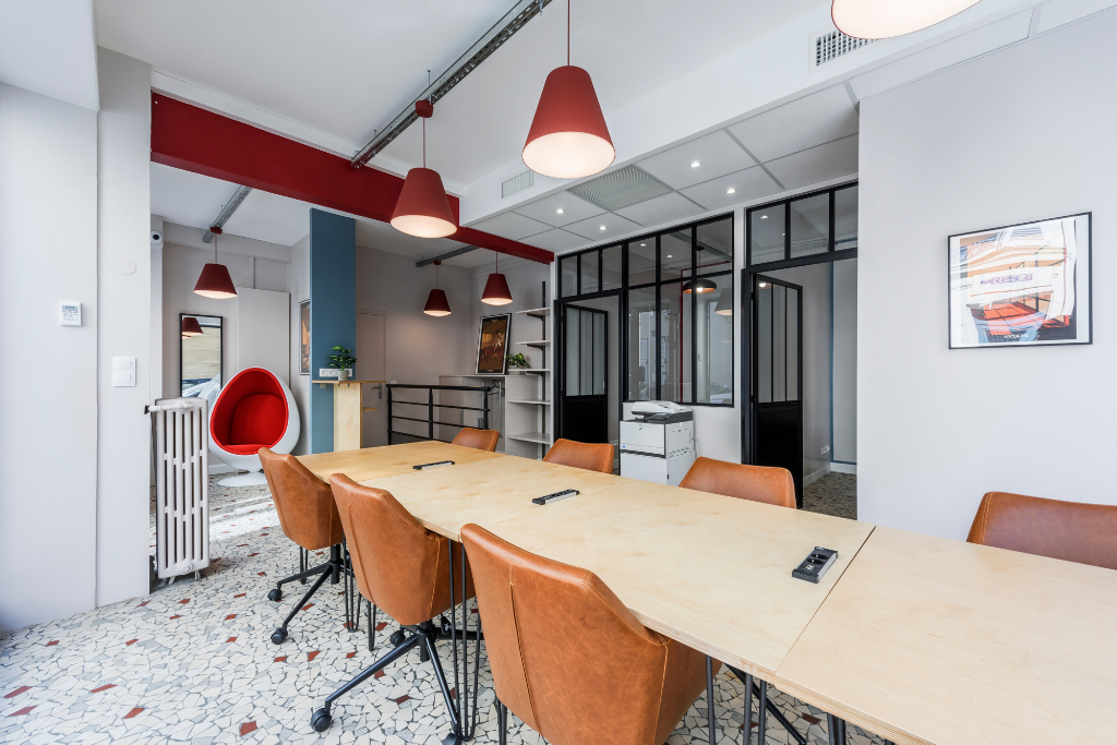 Quartier Batignolles.8 Postes Coworking
