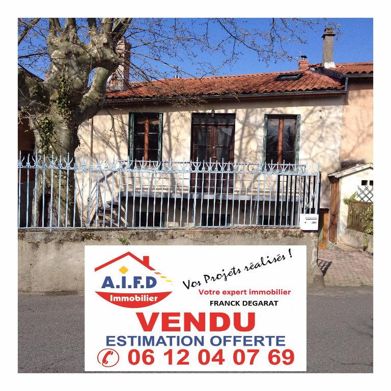 Maison de village de 95 m² + jardin + garage