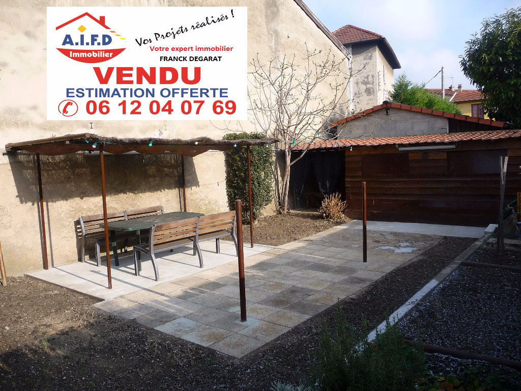 Appartement de 77 m² avec cave et jardin 85 m²