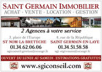 ST GERMAIN EN LAYE STUDIO LOCATION CENTRE VILLE