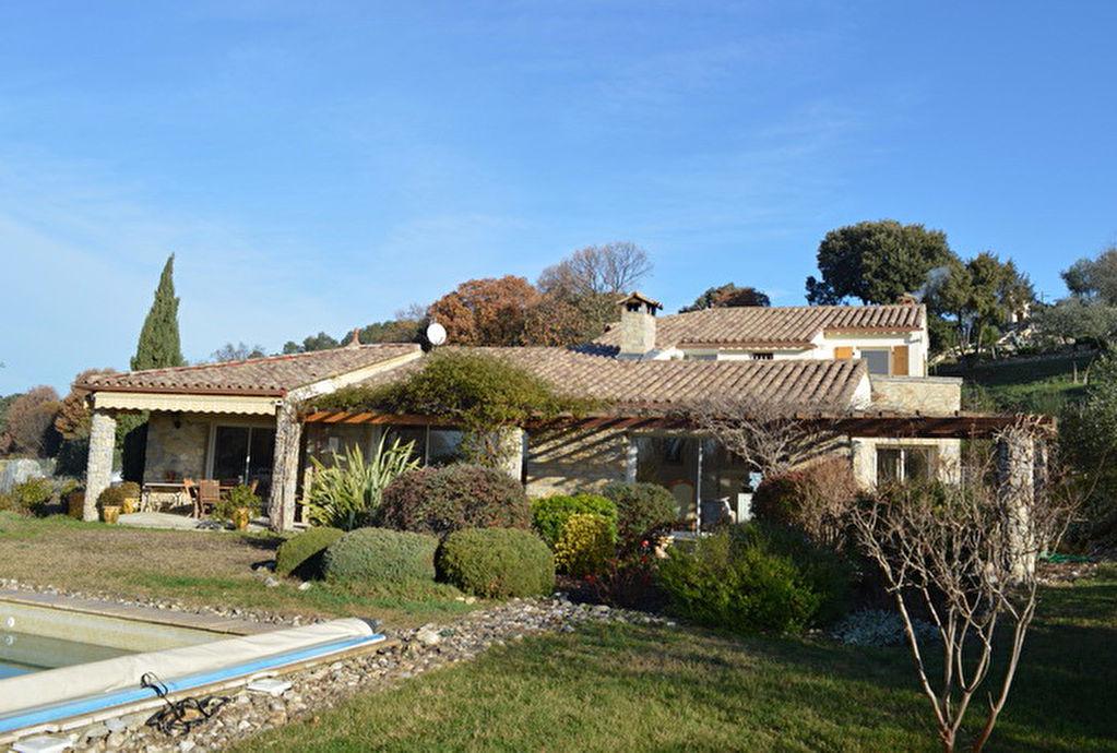 Villa  Sud d'Alès 5 pièces 145 m2 hab. terrain 2000 m2 vue imprenable secteur résidentiel