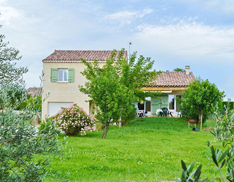 Sud d'Alès villa  récente 123 m2 terrain 1423 m2
