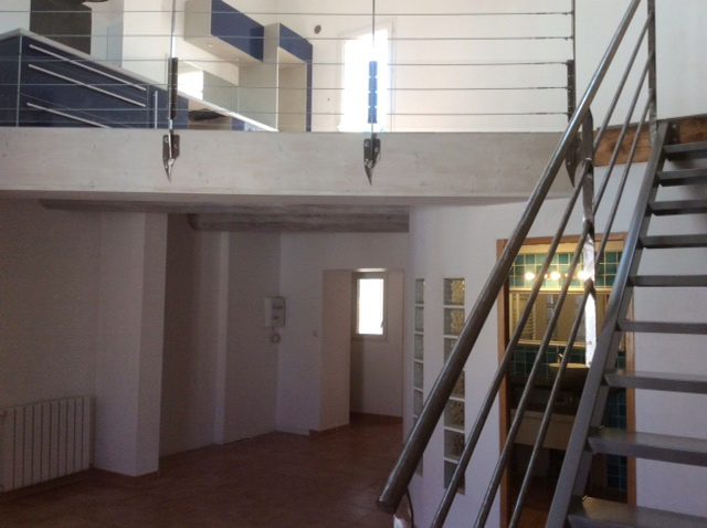 Appartement  type 3 en duplex avec garage et terrasse