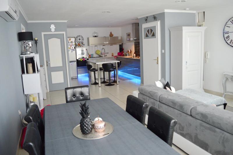 Appartement  4 pièces en duplex 112 m2 proche centre ville