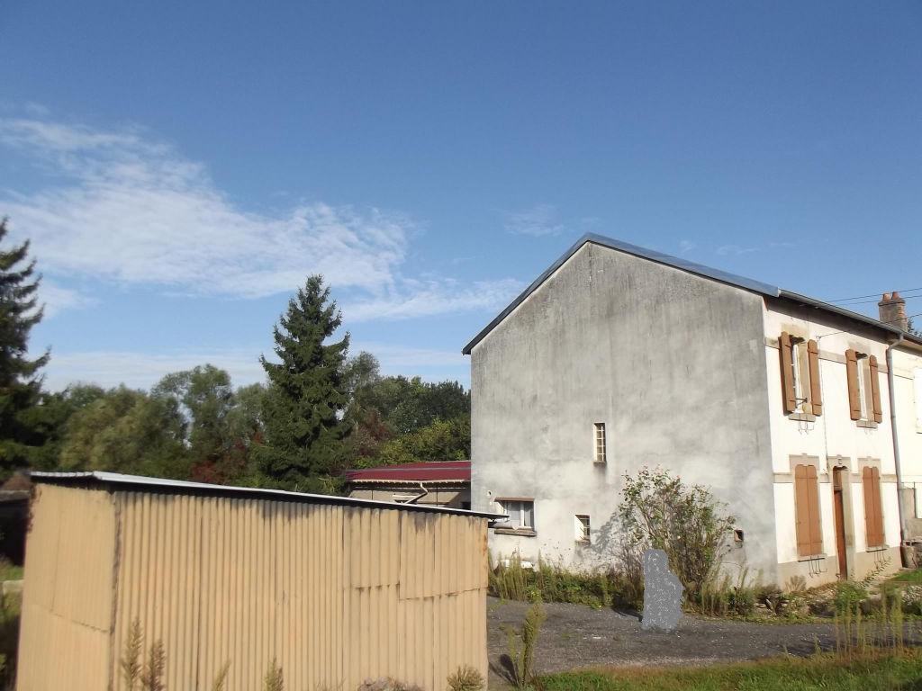 Maison Baccarat  garage et terrain