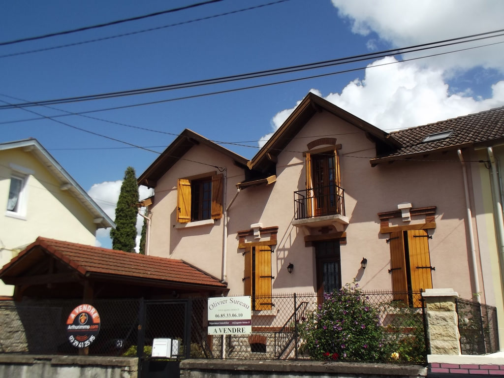 baccarat  maison 7 pièces 190m2 terrain 152000€